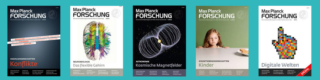 MaxPlanckResearch Reports - Articles of our department